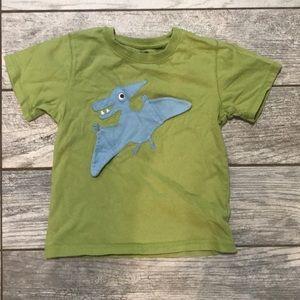 GUC Gymboree kids shirt. Pterodactyl wings flap